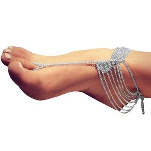 Jewelry - Multi-Layered Barefoot Sandals Ankle Chain